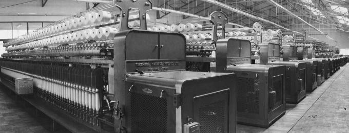 竹原式輪具撚糸機