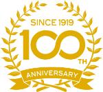 100周年記念マーク