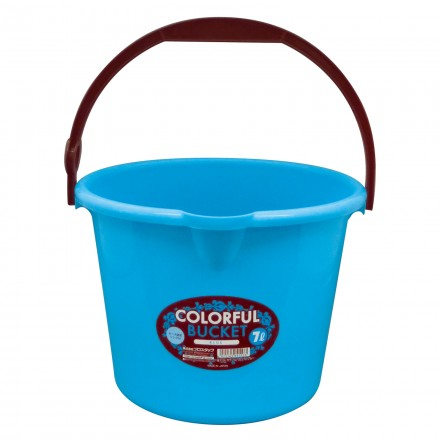 Colorful Bucket 7L Blue