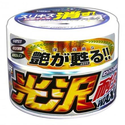Gloss & Durable Car Wax Koutaku Taikyu for White Pearl