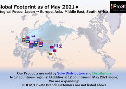 Additional 12 Countries with Sole Distributors